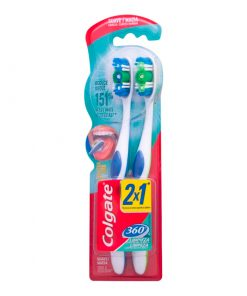 Colgate 360 Toothbrush Twin Pack 2 units